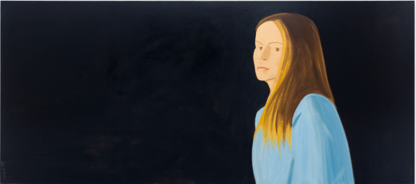 Eleanore, 2014. Photograph: Courtesy Timothy Taylor GalleryEleanore, 2014, by Alex Katz. Courtesy Timothy Taylor GalleryPhotograph: Courtesy Timothy Taylor Gallery