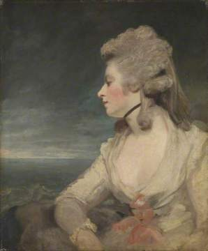 Mrs Mary Robinson, 1783–1784. OIl on canvas, 77 x 63.5 cm. Wallace Collection
