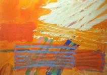 Pegasus, 1982, acrylic on canvas, 84 x 120 in / 213 x 305 cm