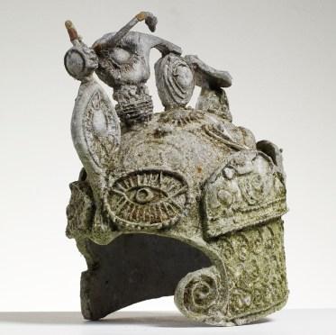 Early English Motorcycle Helmet (1981)