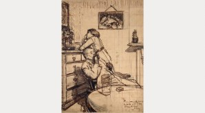 Walter Richard Sickert: Study for 'Ennui': Hubby and Marie, c.1913