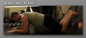 Kneeling Plank 300x134 9 Plank Progressions Everyone Should Be Using