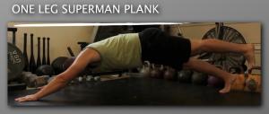 One Leg Superman Plank 300x127 9 Plank Progressions Everyone Should Be Using