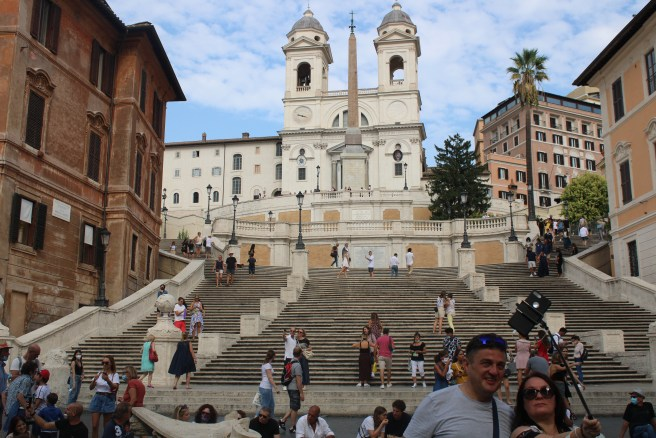 The Spanish Steps - A shot of the world in the Italian Capital