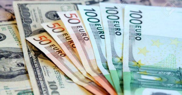 سعر صرف اليورو مقابل الدولار الأميركي وان