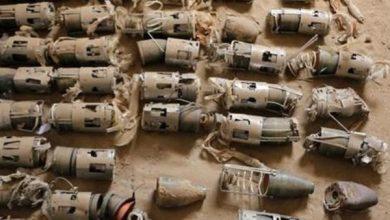 Photo of العثور على قنابل هجومية شمالي بابل
