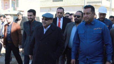 Photo of رئيس مجلس الوزراء السيد عادل عبد المهدي يتفقد المشاريع الخدمية في قضاء شط العرب