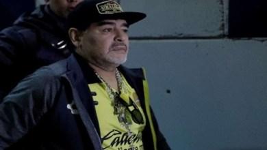 Photo of مارادونا يدخل المستشفى اثر نزيف داخلي