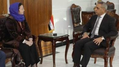 Photo of زيدان يبحث مع سفيرة جمهورية قيرغيزيا  ملف المنتمين لداعش