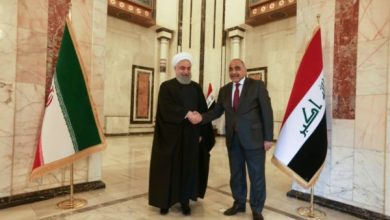 Photo of رئيس مجلس الوزراء السيد عادل عبد المهدي يستقبل رئيس جمهورية ايران الاسلامية الدكتور حسن روحاني