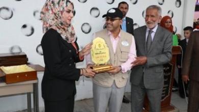 Photo of محافظ بغداد يكرم تربوية لتبرعها بترميم مدرستها