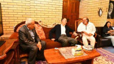 Photo of بالصور.. وزير الثقافة يلتقي نخبة من كبار الفنانين العراقيين