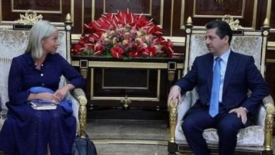 Photo of بارزاني: إرادة مشتركة لحل جميع القضايا العالقة مع بغداد