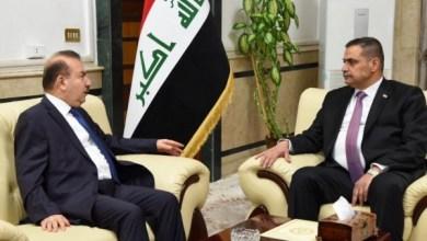 Photo of وزيرا الداخلية والدفاع يبحثان تنسيق الجهود الامنية المشتركة