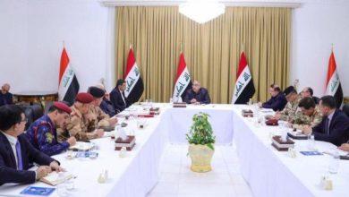 Photo of مجلس الأمن الوطني يعقد جلسة غير إعتيادية برئاسة رئيس مجلس الوزراء السيد عادل عبدالمهدي