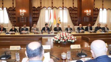 Photo of رئيس حكومة إقليم كوردستان يترأس اجتماعاً لوفد المباحثات مع بغداد