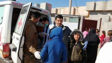 Photo of فرق طبابة اللواء 44 بالحشد تعالج 500 مواطن من سكان قضاء الحضر في الموصل