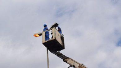 """Photo of كهرباء ميسان """" انجاز تأهيل انارة شارعي المصلحة و المرور التجاري في العمارة"""
