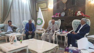 Photo of وزير الشباب يستقبل وفد الاتحاد العربي للاعلام الإلكتروني