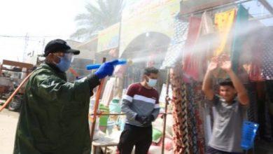 Photo of طبابة اللواء الثاني للحشد تواصل تعفير المناطق السكنية ودور العبادة في النجف