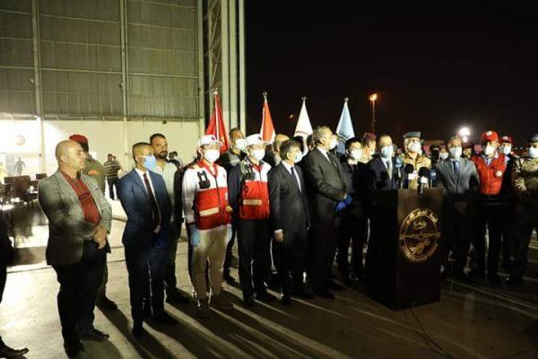 Photo of الصحة تعلن وصول الطائرة العسكرية العراقية المحملة بالأجهزة والمستلزمات الطبية من دولة الصين الشقيقة