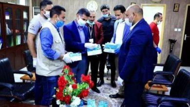 Photo of وفد رسمي من المعاونية الجهادية لسرايا السلام يزور مستشفى ابن الهيثم للعيون ببغداد