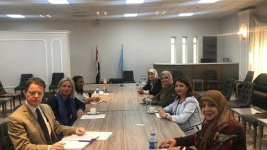 Photo of نساء من السلطة التشريعية والتنفيذية يناقشون دعم الامم المتحدة لتمكين المرأة في العراق