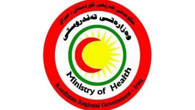 Photo of صحة كردستان العراق تسجل 535 إصابة جديدة و26 وفاة بفيروس كورونا