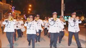 "Photo of شرطة واسط تؤدي دور ""المسحراتي"" في مبادرة بالكوت عبر الجوق الموسيقي"