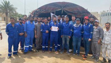 Photo of بالصور.. موظفو خدمات كهرباء الزبير يعلنون الإضراب العام عن العمل