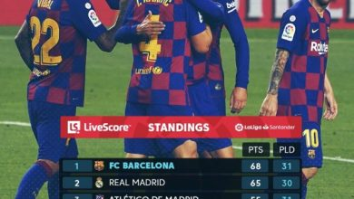 Photo of ترتيب الدوري الإسباني بعد فوز برشلونة على أتليتك بلباو