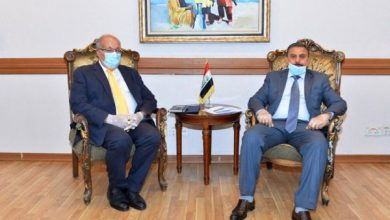 Photo of رئيس دائرة المنظمات والمؤتمرات الدوليّة وكالة يلتقي سفير اليونان في العراق