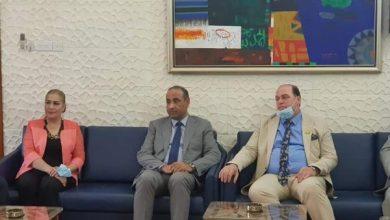Photo of وزير الثقافة والسياحة والآثار الدكتور حسن ناظم في ضيافة نقابة الفنانين العراقيين