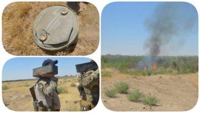Photo of وكالة الاستخبارات : ضبط وكرين وثلاثة مخابئ للأسلحة وكدس للعتاد في ديالى