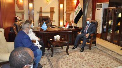 Photo of وزير التعليم يناقش تطوير البرامج التعليمية للأمم المتحدة في العراق