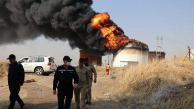 Photo of الدفاع المدني يستنفر طاقات ويسخر الامكانيات لاسناد فرق النفط لاستيعاب والسيطرة على النيران في مصف القيارة