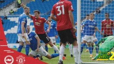 Photo of مانشستر يونايتد يحقق فوزاً  ثمينًا من أنياب برايتون