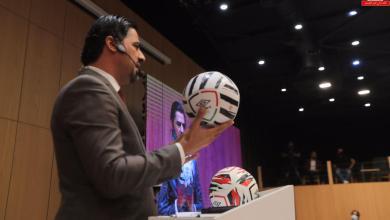 Photo of الهيئة التطبيعية تكشف عن الكرة الموحدة من شركة ( Umbro )لمباريات الدوري الممتاز لأول مرة