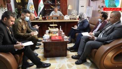 Photo of مدير دائرة العلاقات والإعلام يلتقي مديرة حقوق الإنسان في وزارة الداخلية