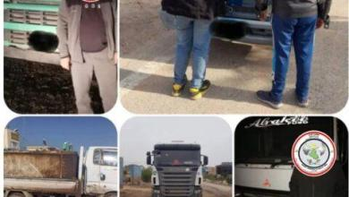 Photo of وكالة الاستخبارات: ضبط خمس عجلات والقاء القبض على سائقيها محملة بمنتوج نفطي مخالفة للضوابط في اربعة محافظات