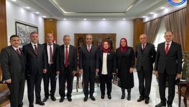 Photo of رئيس مجلس القضاء الاعلى يستقبل عددا من القضاة واعضاء الادعاء العام في اقليم كردستان