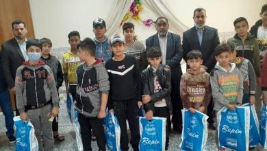 Photo of لجنة رعاية الطفولة في النجف تسهم في ادخال السرور على مجموعة من الأطفال الأيتام