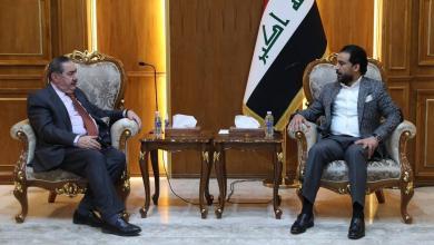 Photo of رئيس مجلس النواب يستقبل وفد الحزب الديمقراطي الكردستاني