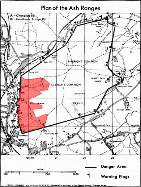Area Close Ash Ranges