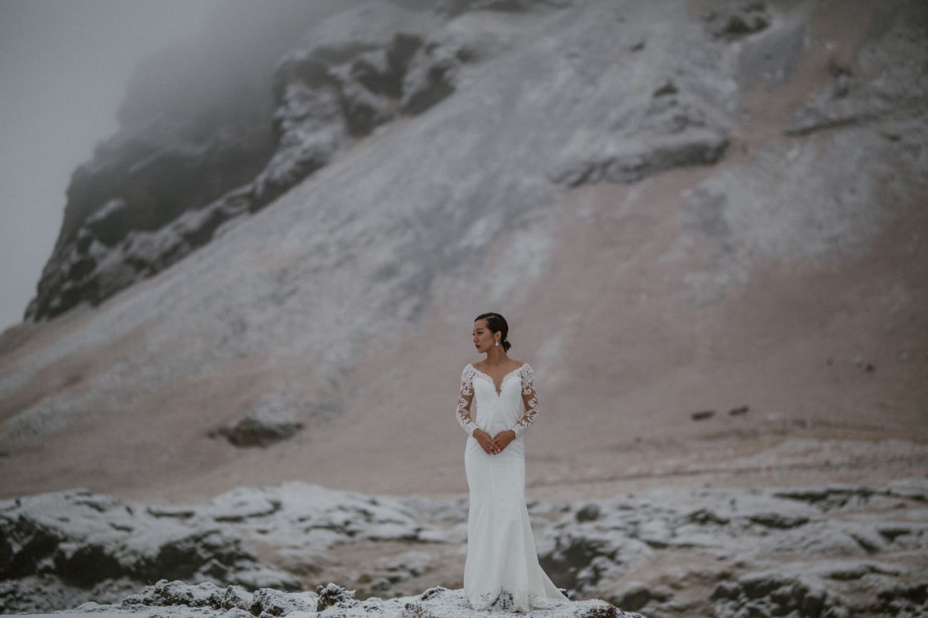 iceland bride photo