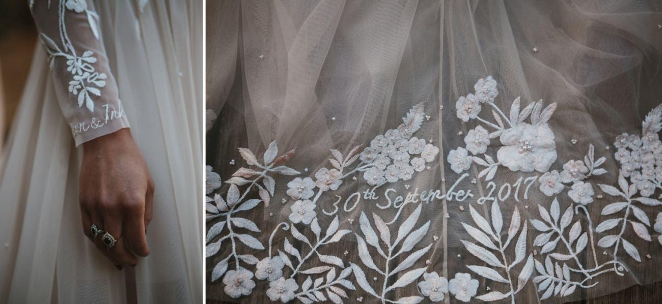 hermione de paula lace gown for italian wedding