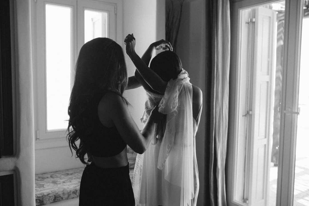 Mykonos bride, mykonos wedding photographer