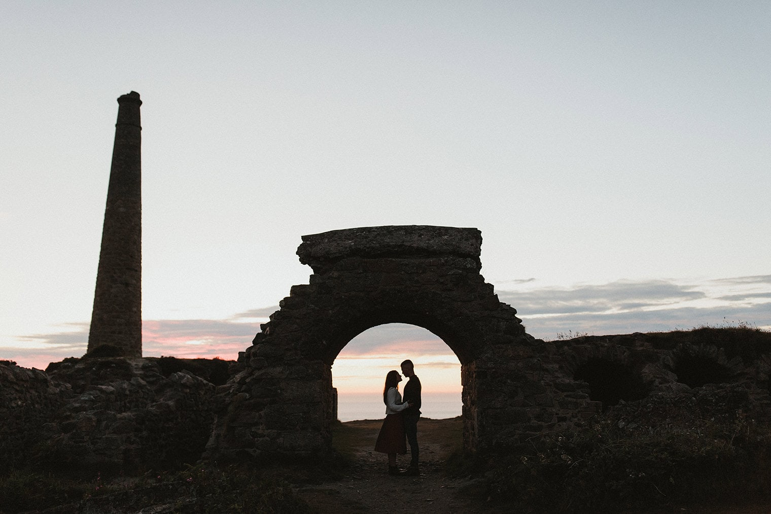 Cornwall Engagement Session - Josephine and brendan