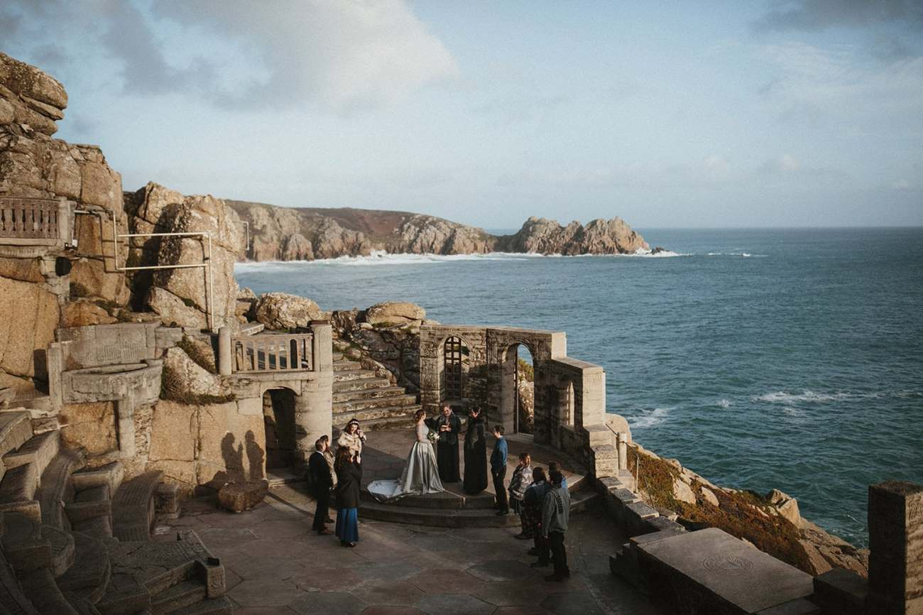 Minack Theatre Wedding