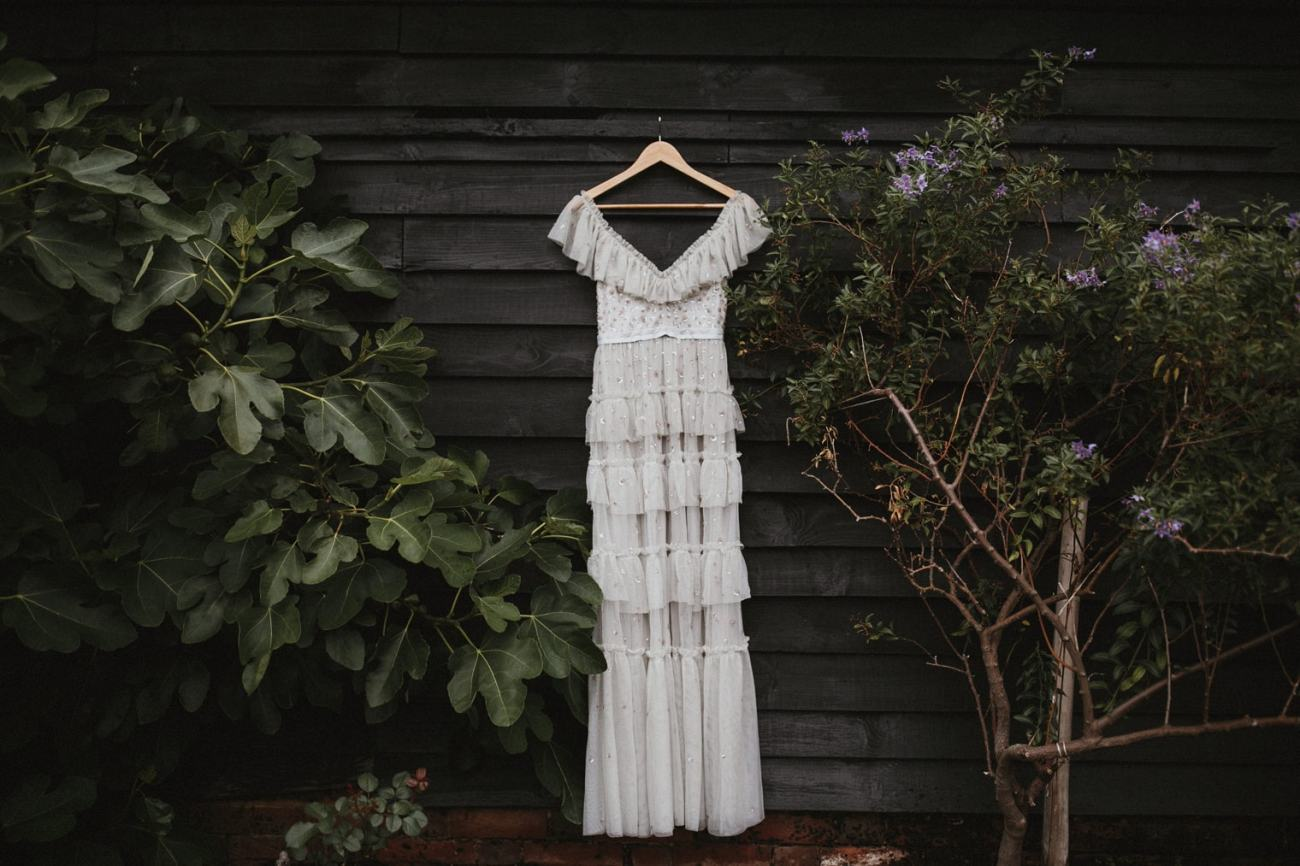 Needle and Thread London wedding gown